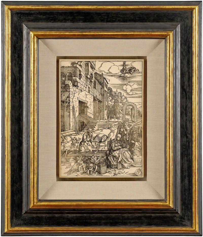 Albrecht Dürer . Der Aufenthalt in Ägypten . um 1504 . Holzschnitt . ca. 30 x 22 cm