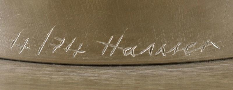Erich Hauser . Ohne Titel . Edelstahl . 31 x 20 x 70 cm
