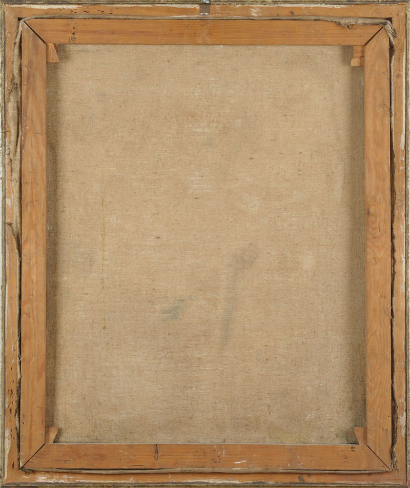 Hans Lasser . Der Traum . Öl /Leinwand . 85 x 70 cm