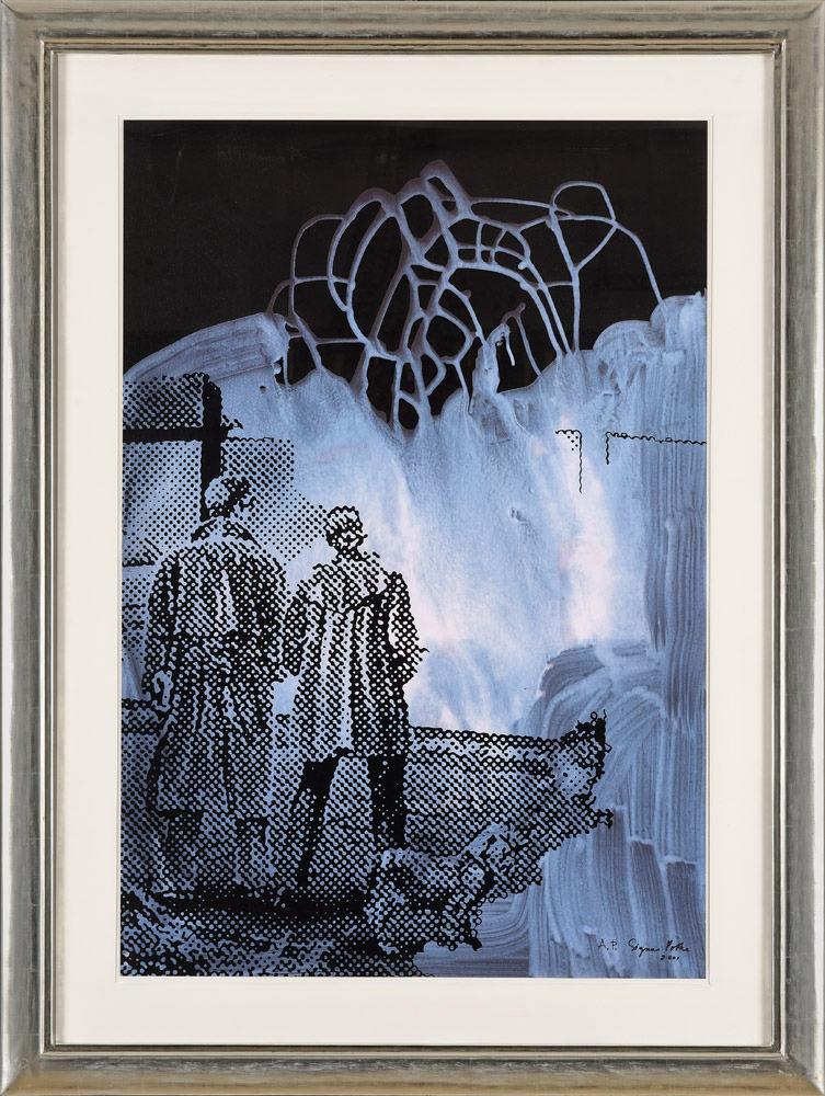 Sigmar Polke . Preisvergleich . 2001 . Offsetlithographie und Siebdruck . 100 x 68,5 cm
