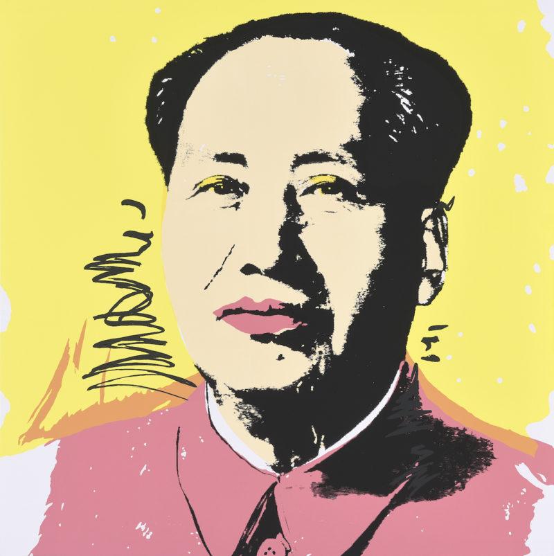 Andy Warhol. Mao. Siebdruck. 90,5x91cm