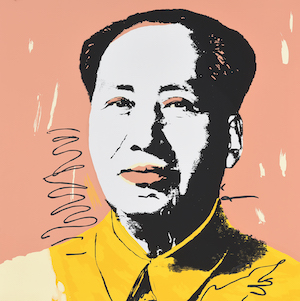 Andy Warhol. Mao. Farbserigraphie. 90,5x91cm