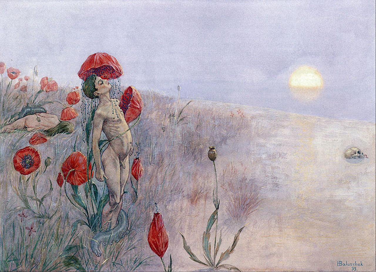 Hans Baluschek. Der Tod. 1895.