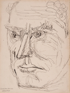 Jankel Adler. Selbstportrait. 1943