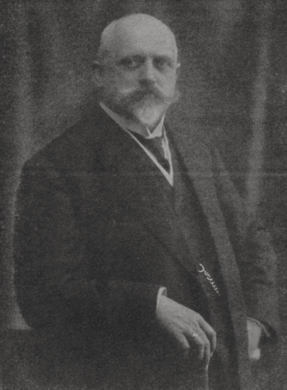 Theodor Groll. Portrait. vor 1913