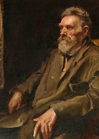Oscar Wergeland. Portrait Anders Andersen-Lundby. o.D.