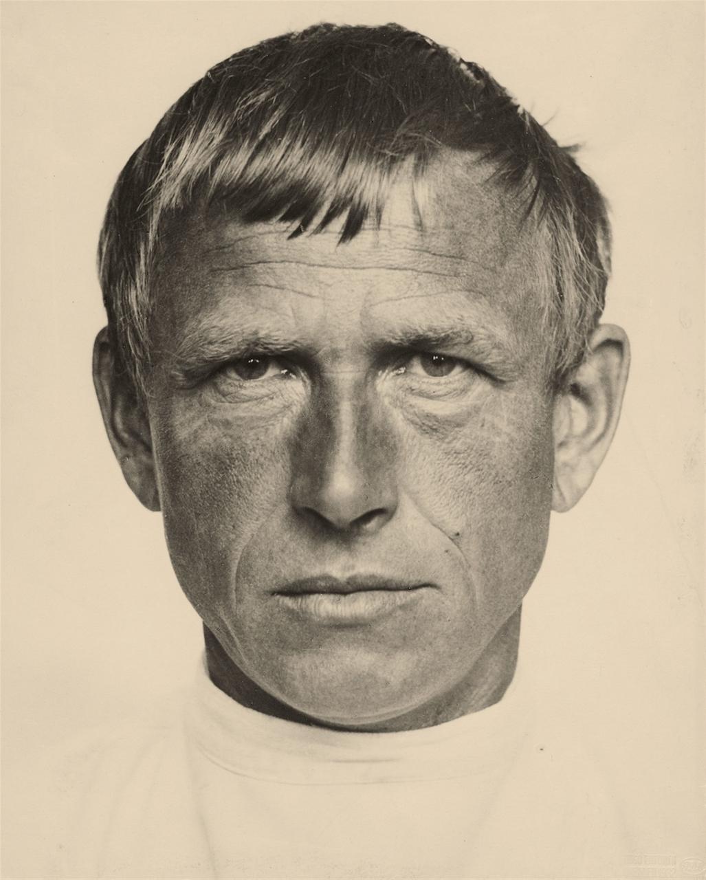 Hugo Erfurth. Portrait Otto Dix